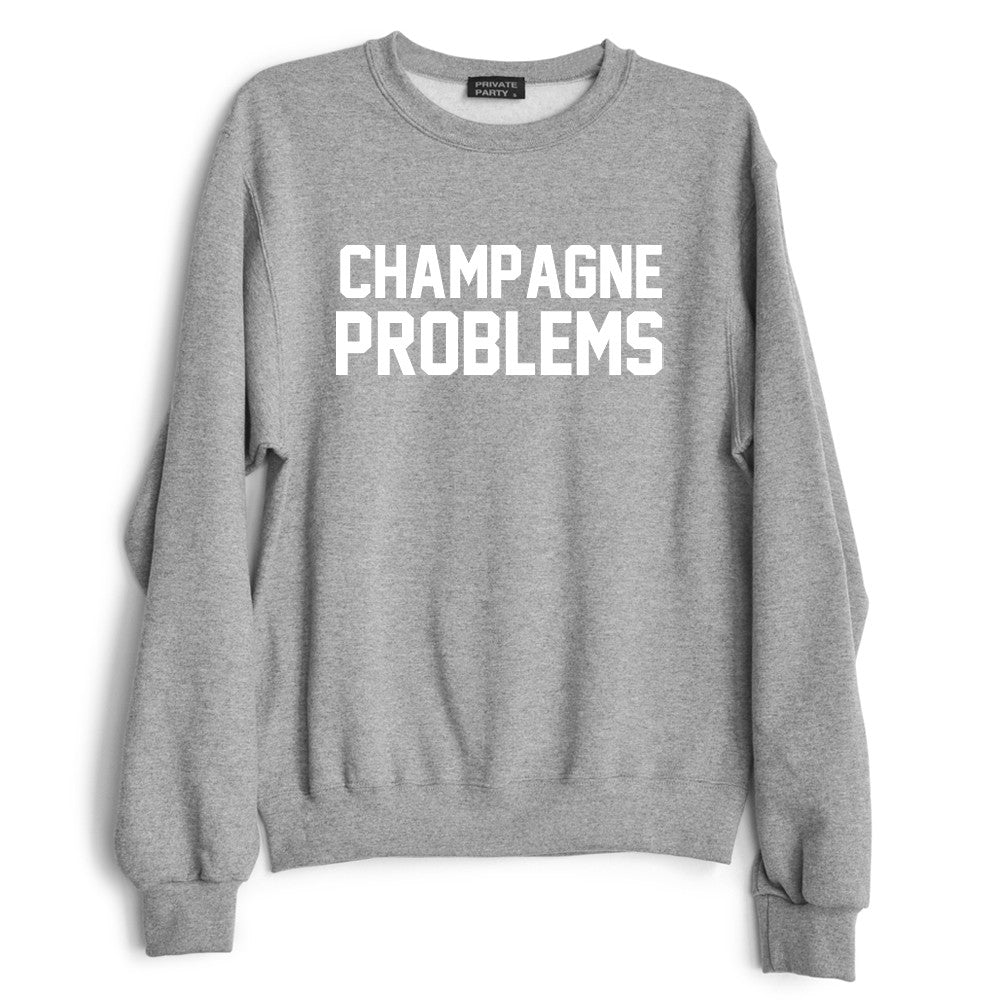 CHAMPAGNE PROBLEMS