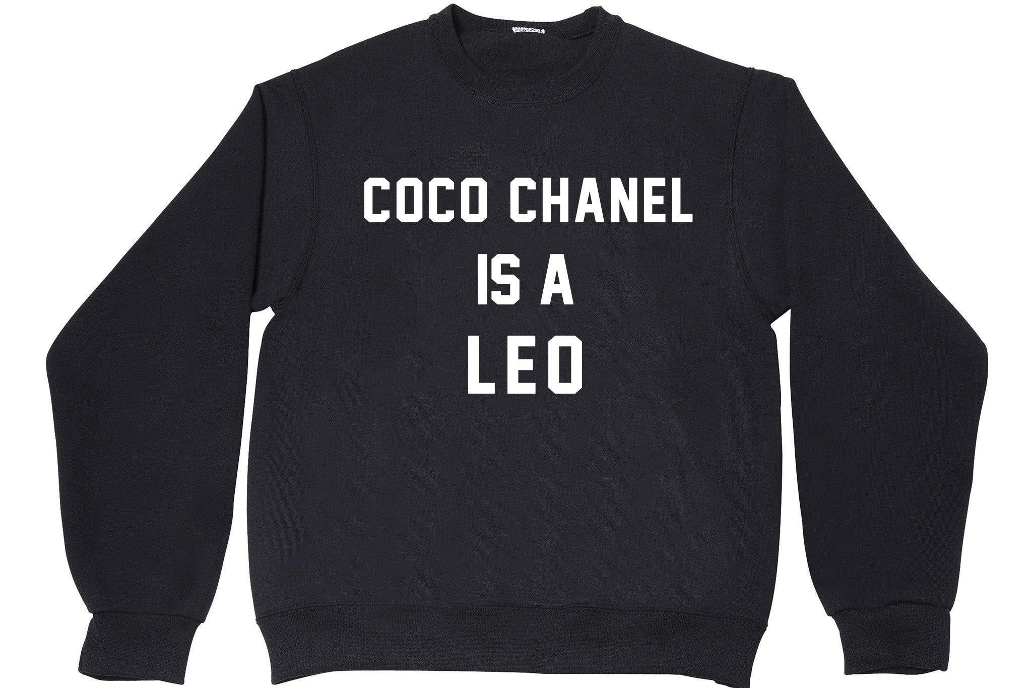 COCO CHANEL IS A LEO