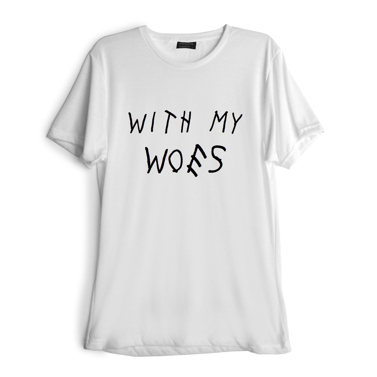 WITH MY WOES [TEE]