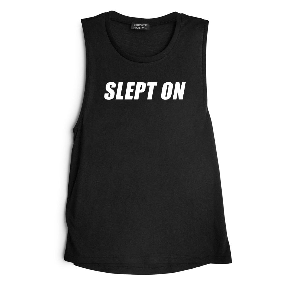 SLEPT ON [MUSCLE TANK]