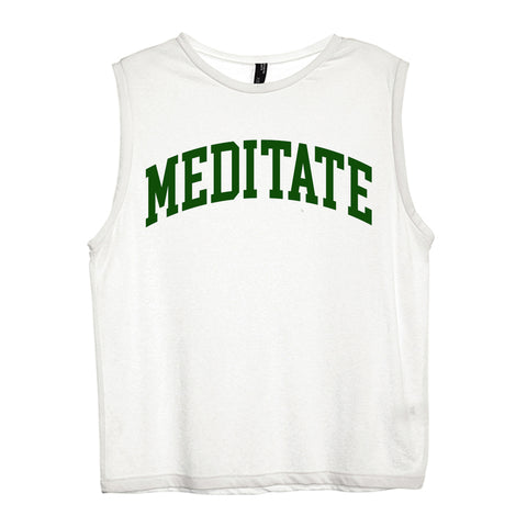 MEDITATE [WOMEN'S MUSCLE TANK]