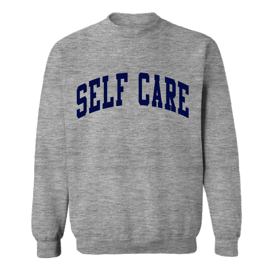 SELF CARE [UNISEX CREWNECK SWEATSHIRT]