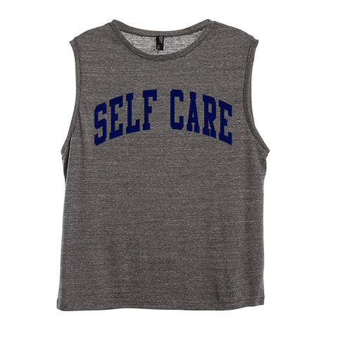 SELF CARE [WOMEN'S MUSCLE TANK]