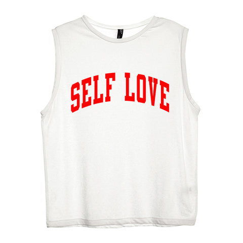 SELF LOVE [WOMEN'S MUSCLE TANK]