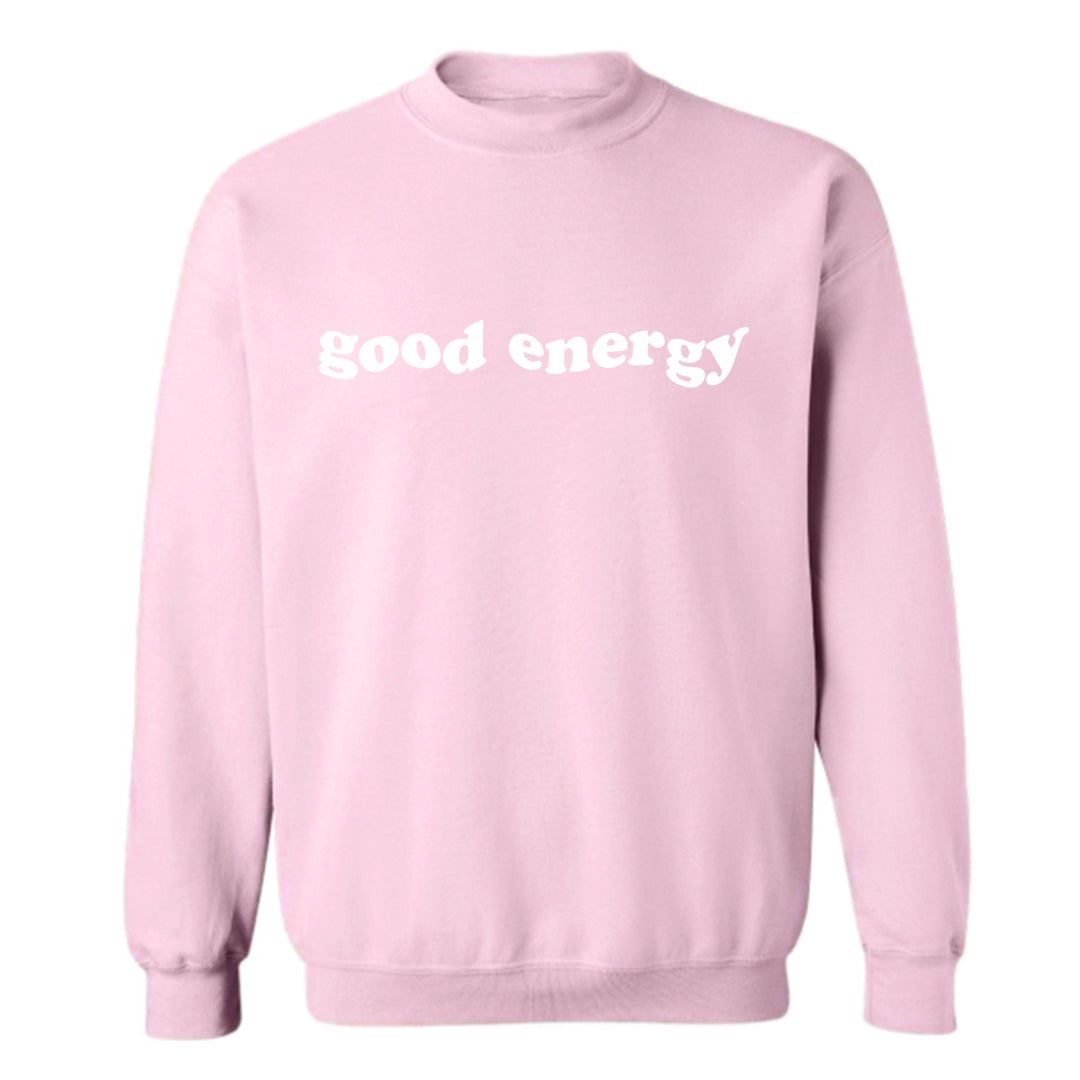 GOOD ENERGY [UNISEX CREWNECK SWEATSHIRT]
