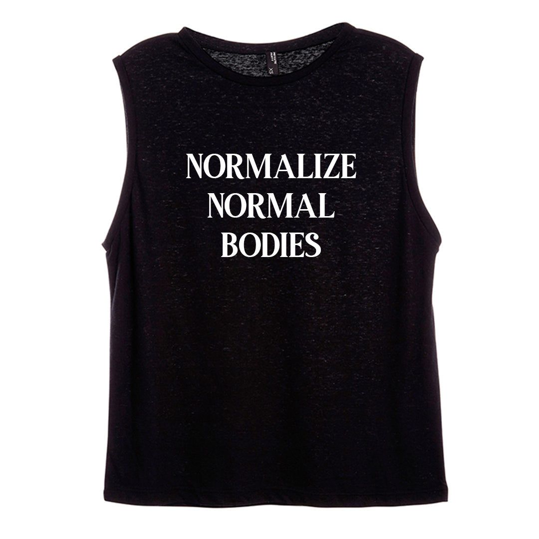 NORMALIZE NORMAL BODIES [WOMEN'S MUSCLE TANK]