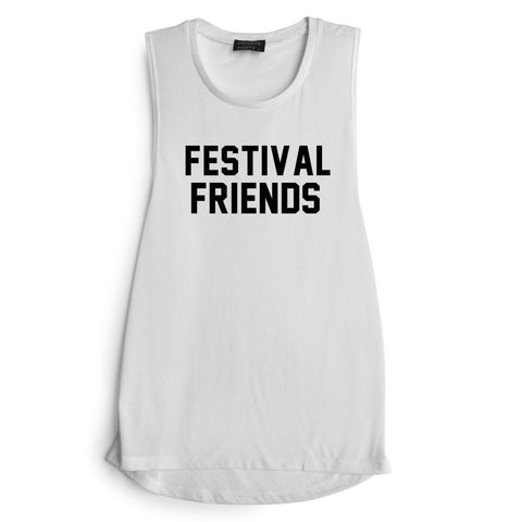 FESTIVAL FRIENDS  [MUSCLE TANK]