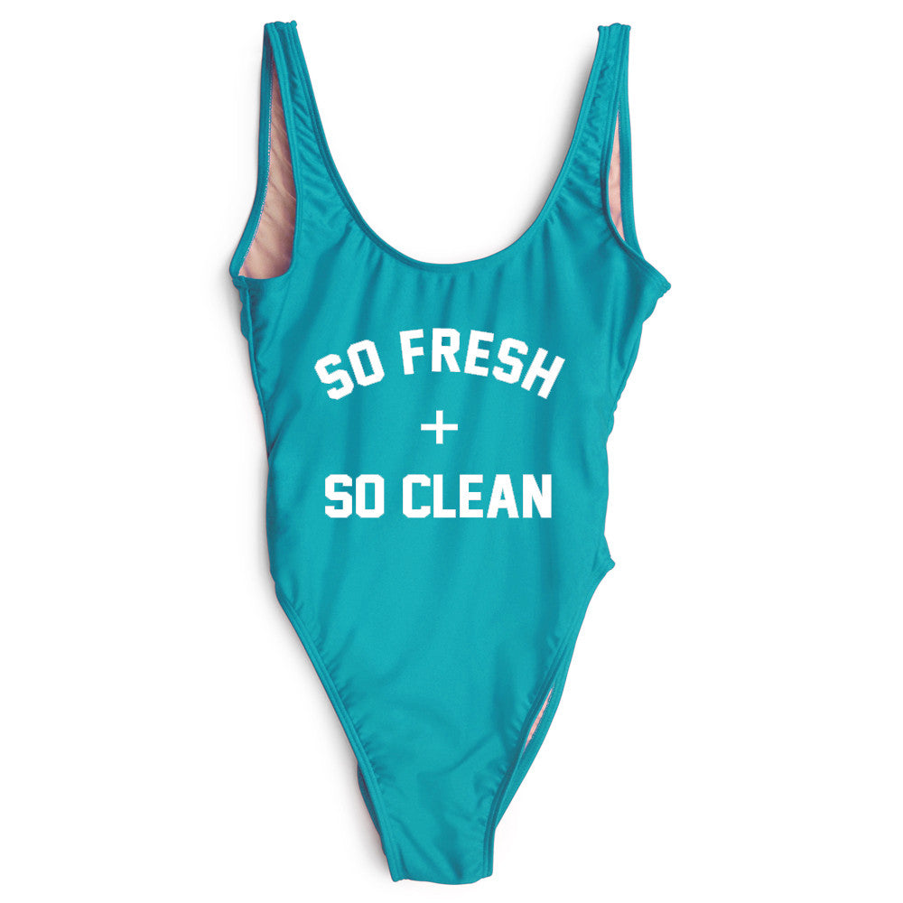 SO FRESH + SO CLEAN [SWIMSUIT]