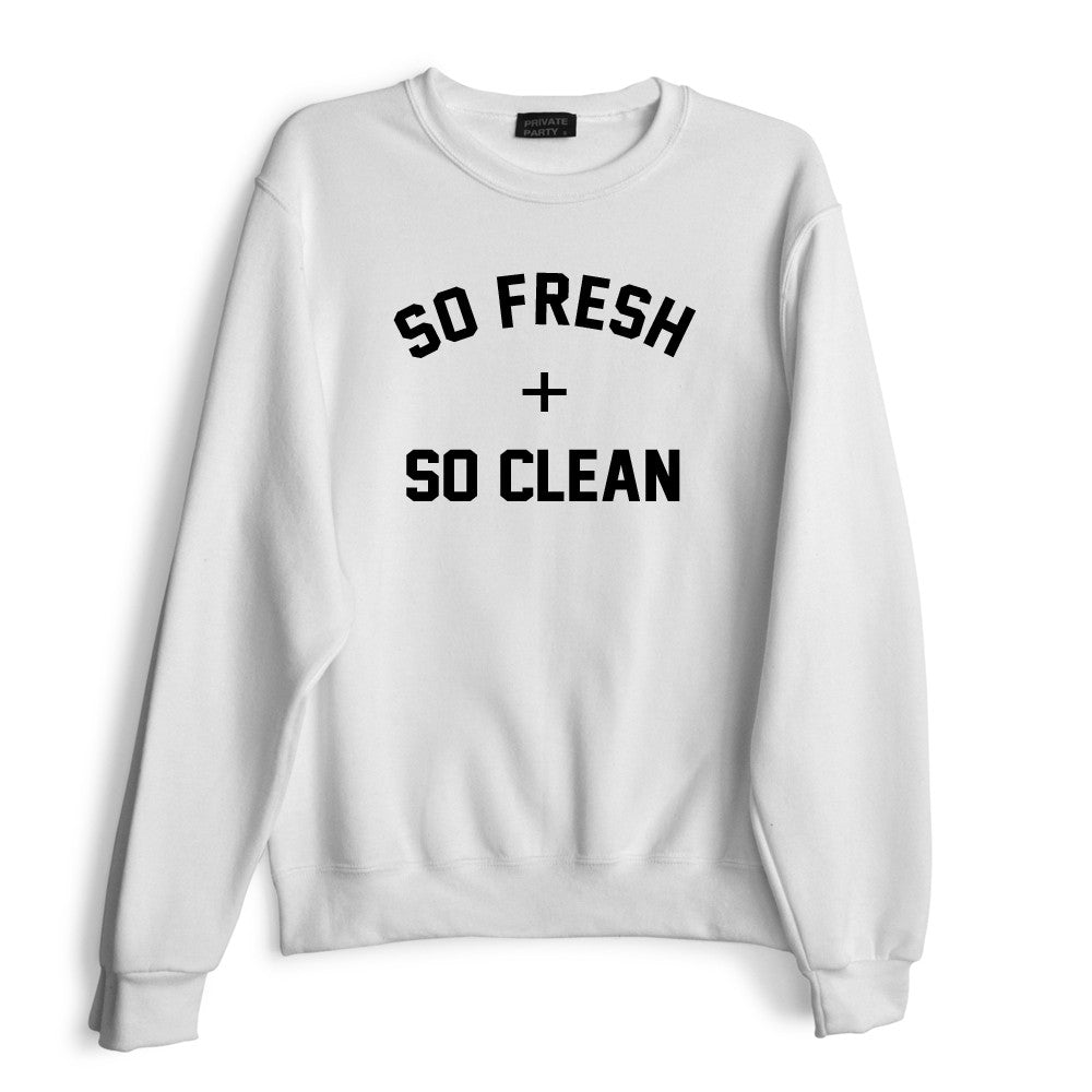 SO FRESH + SO CLEAN