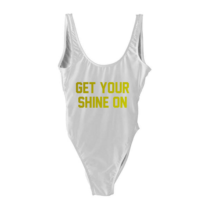 GET YOUR SHINE ON [SWIMSUIT]
