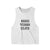 GOOD VIBES CLUB [WOMENS CROP RACERBACK TANK]