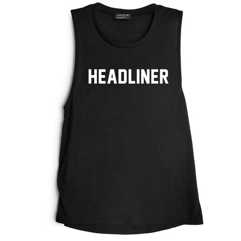 HEADLINER [MUSCLE TANK]