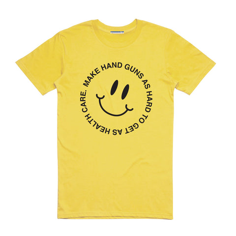 HANDGUNS AND HEALTH CARE BASIC TEE