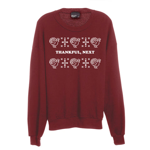 THANKFUL, NEXT [UNISEX CREWNECK SWEATSHIRT]
