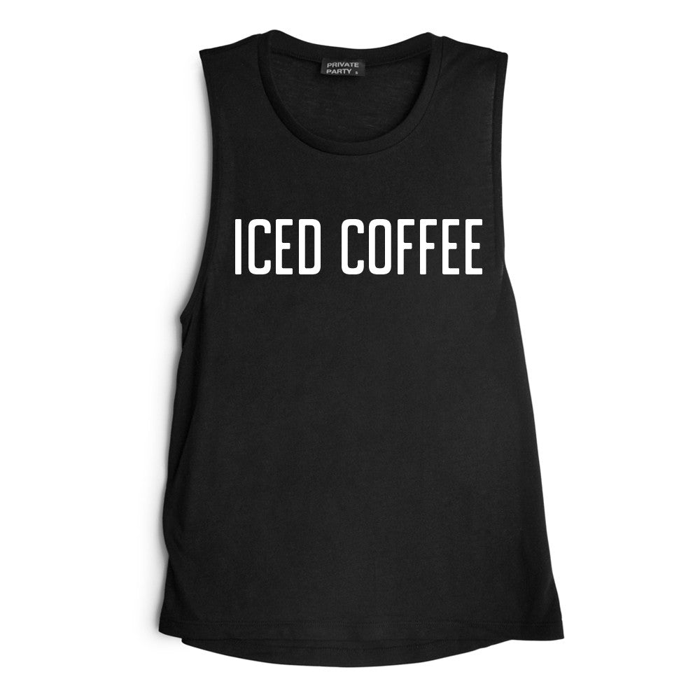 ICED COFFEE [MUSCLE TANK]