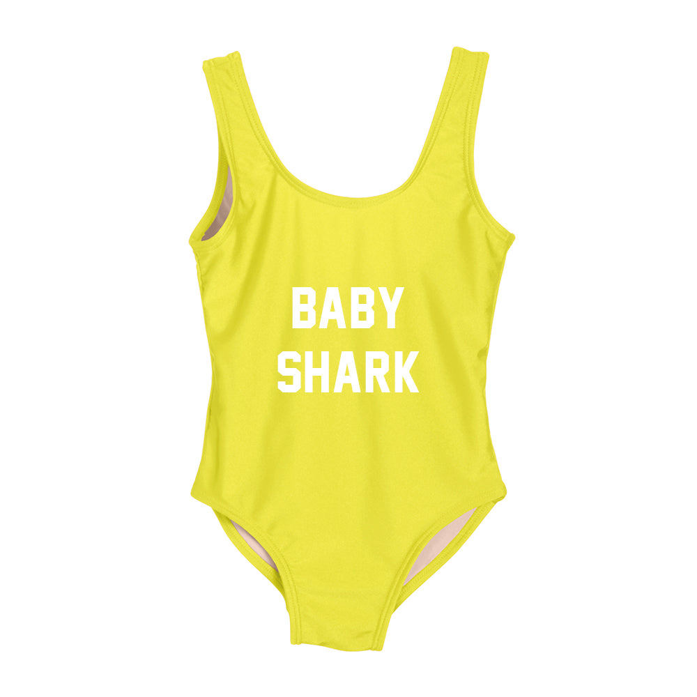 BABY SHARK [KIDS ONE PIECE SWIMSUIT]