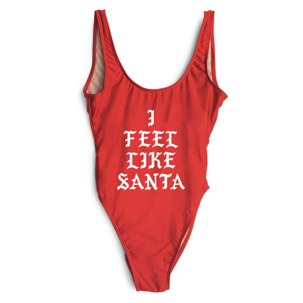 I FEEL LIKE SANTA [SWIMSUIT]