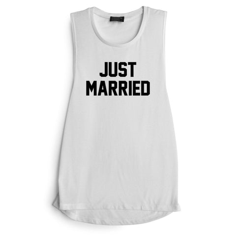 JUST MARRIED [MUSCLE TANK]