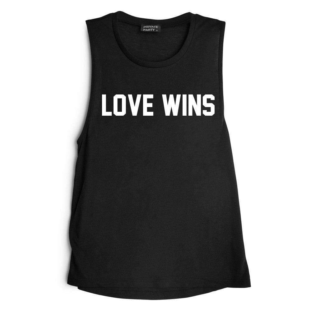 LOVE WINS [MUSCLE TANK]