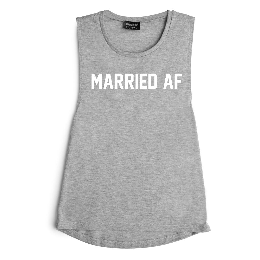MARRIED AF [MUSCLE TANK]