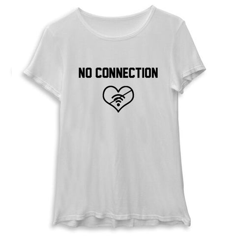 NO CONNECTION [WOMEN'S TEE]