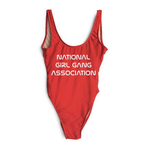 NATIONAL GIRL GANG ASSOCIATION  [SWIMSUIT]