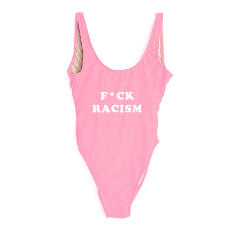 Copy of F*CK RACISM [SWIMSUIT]