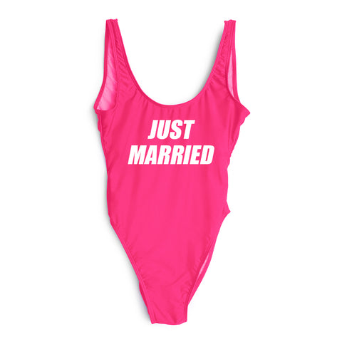 JUST MARRIED // NIKE FONT [SWIMSUIT]