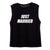 JUST MARRIED // NIKE FONT [WOMEN'S MUSCLE TANK]