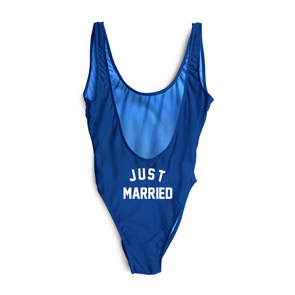 JUST MARRIED // BUTT PRINT [SWIMSUIT]