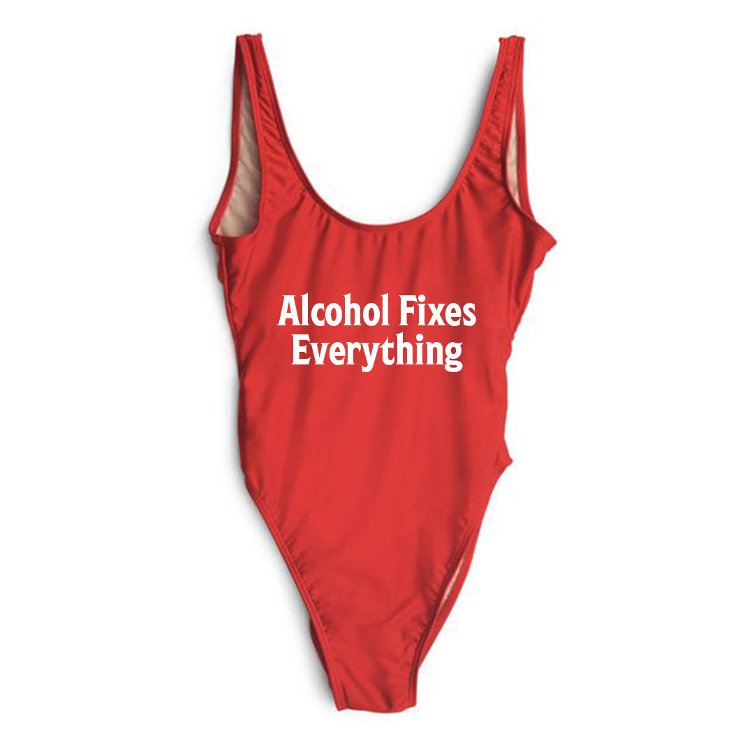 ALCOHOL FIXES EVERYTHING [SWIMSUIT]