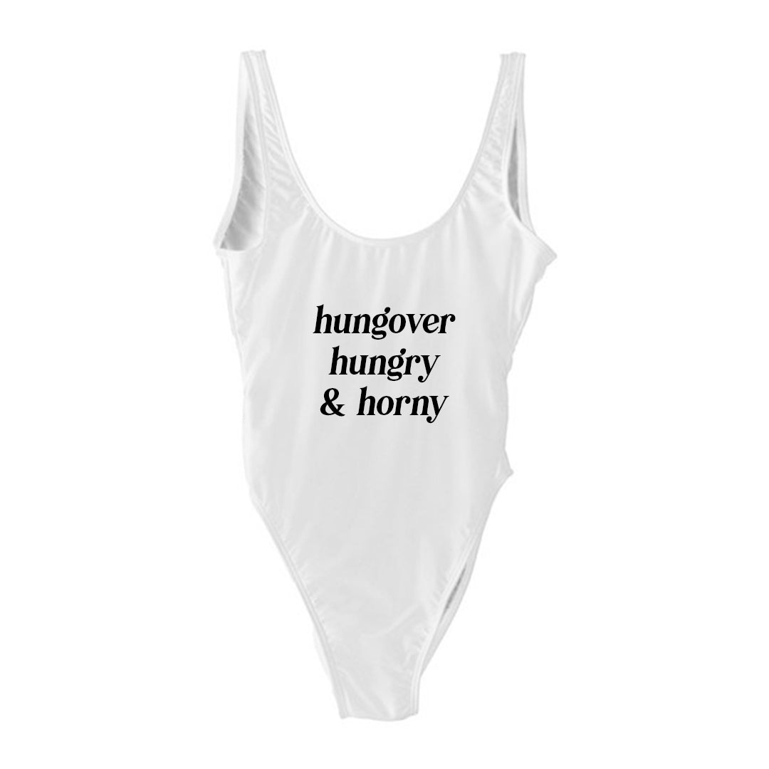 HUNGOVER HUNGRY & HORNY [SWIMSUIT]