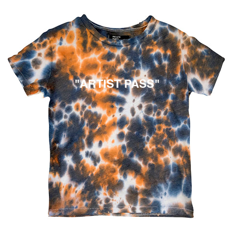 """ARTIST PASS"" 1/1 [DISTRESSED WOMEN'S TEE]"
