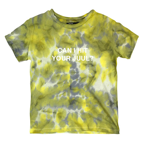 CAN I HIT YOUR JUUL? - 1/1 [DISTRESSED WOMEN'S TEE]