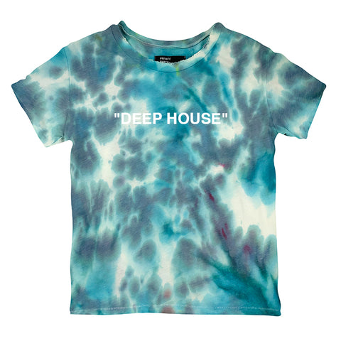"""DEEP HOUSE"" 1/1 [DISTRESSED WOMEN'S TEE]"
