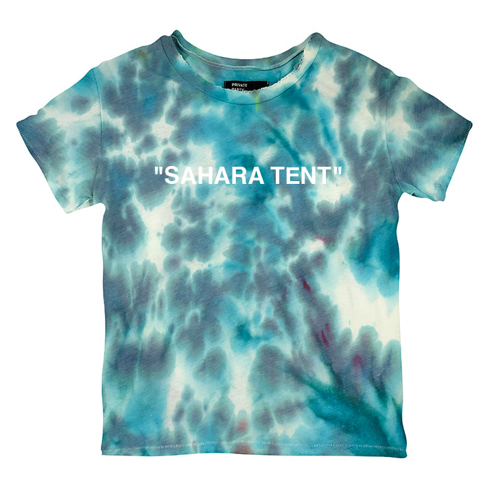 """SAHARA TENT"" 1/1 [DISTRESSED WOMEN'S TEE]"