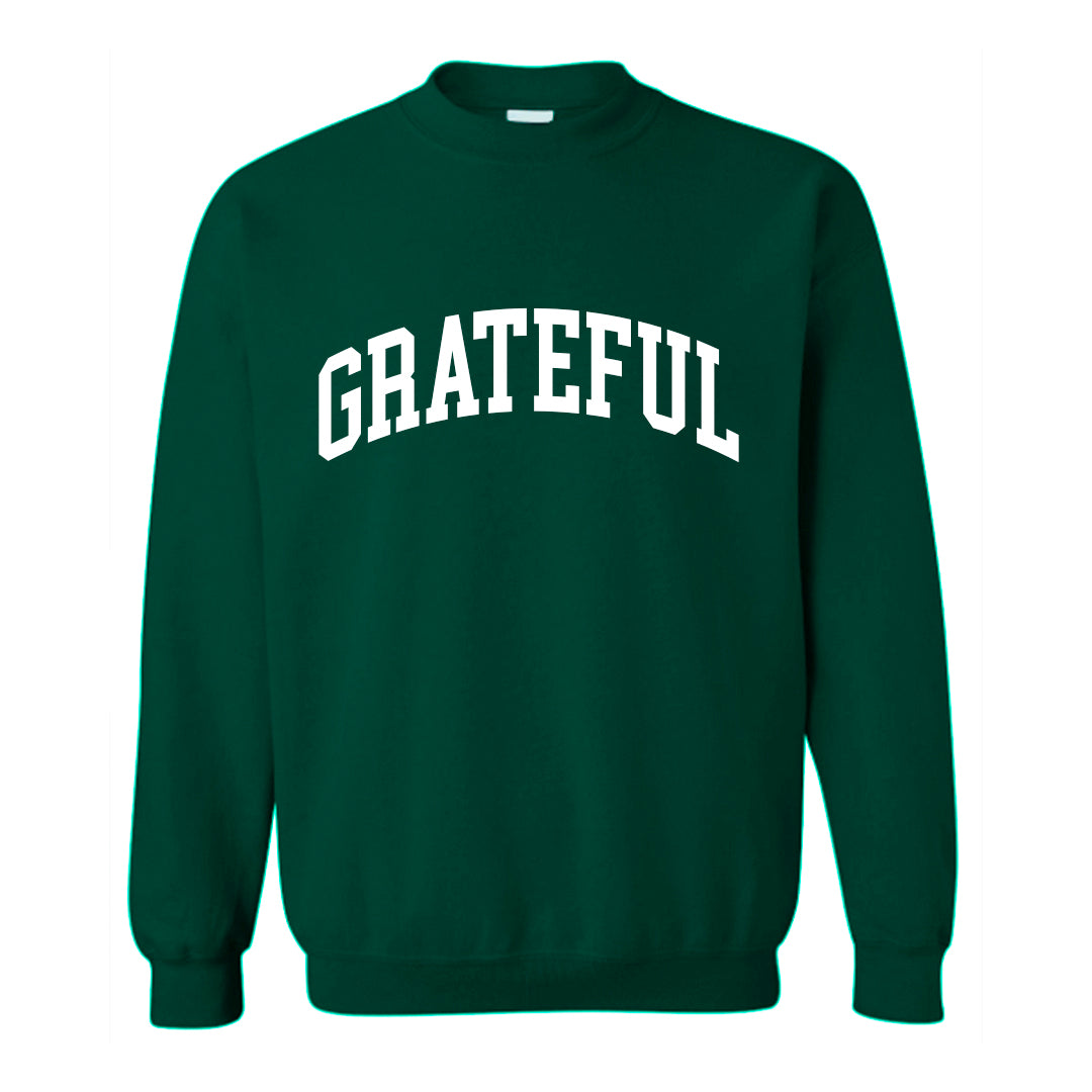 GRATEFUL [UNISEX CREWNECK SWEATSHIRT]