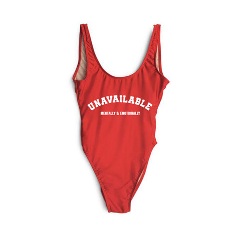 UNAVAILABLE MENTALLY & EMOTIONALLY [SWIMSUIT]