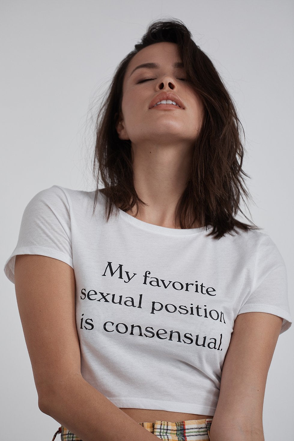 SEXUAL POSITION CROP TEE