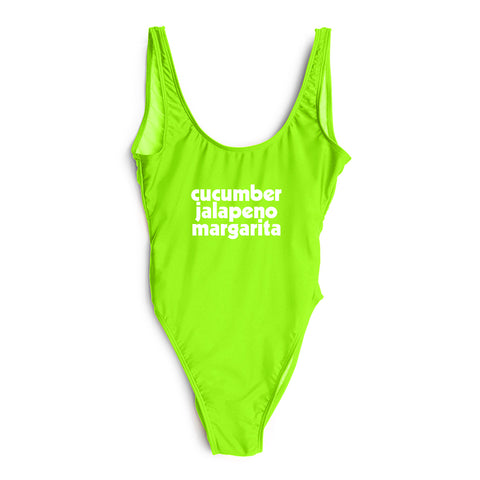 cucumber jalapeño margarita [SWIMSUIT]