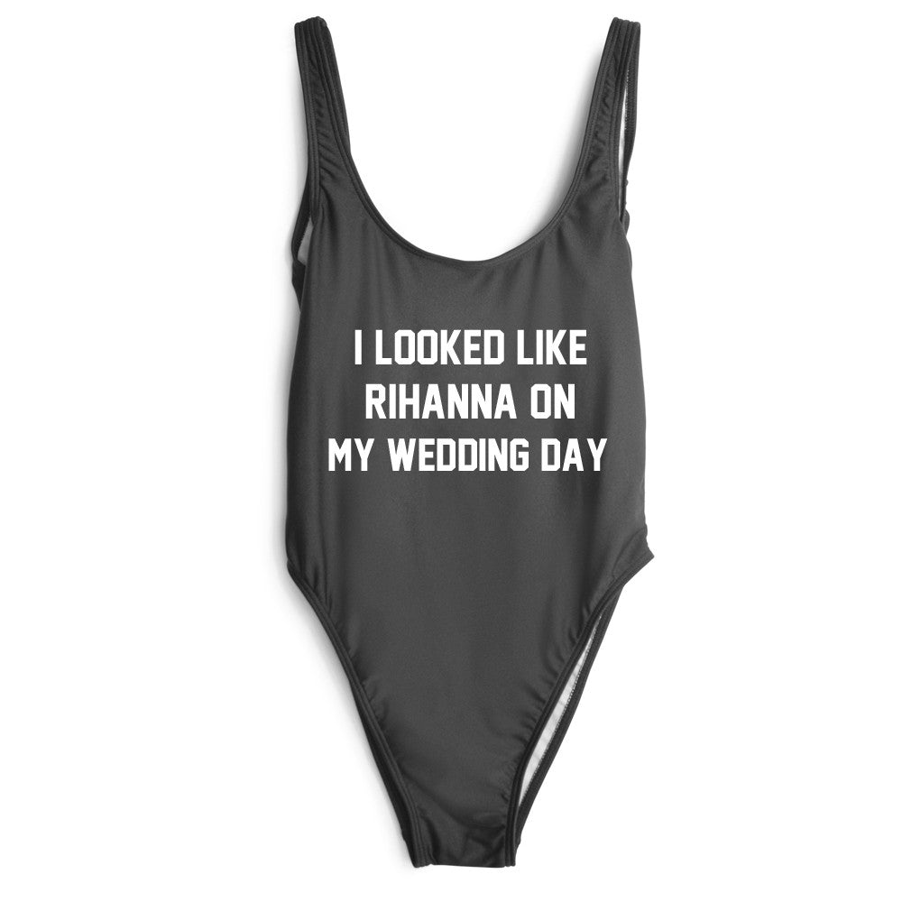 I LOOKED LIKE RIHANNA ON MY WEDDING DAY [SWIMSUIT]
