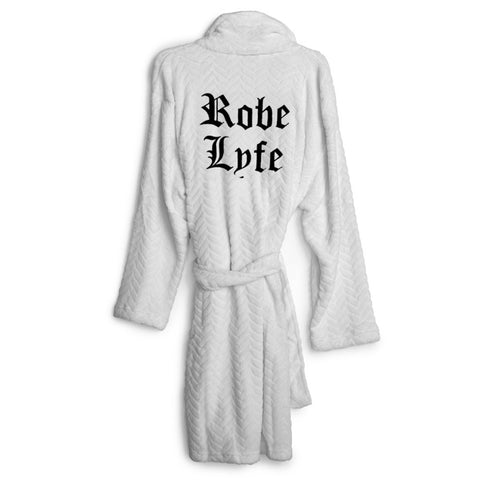 ROBE LYFE [EMBROIDERED ROBE]