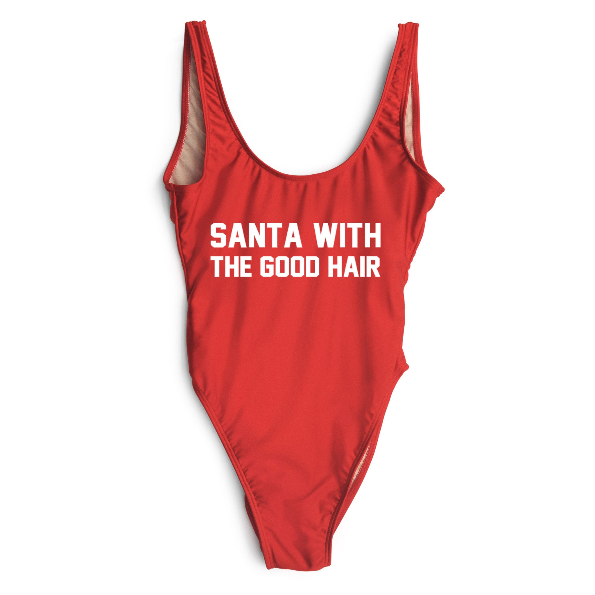 SANTA WITH THE GOOD HAIR [SWIMSUIT]