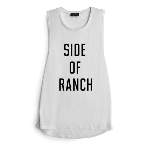 SIDE OF RANCH [MUSCLE TANK]
