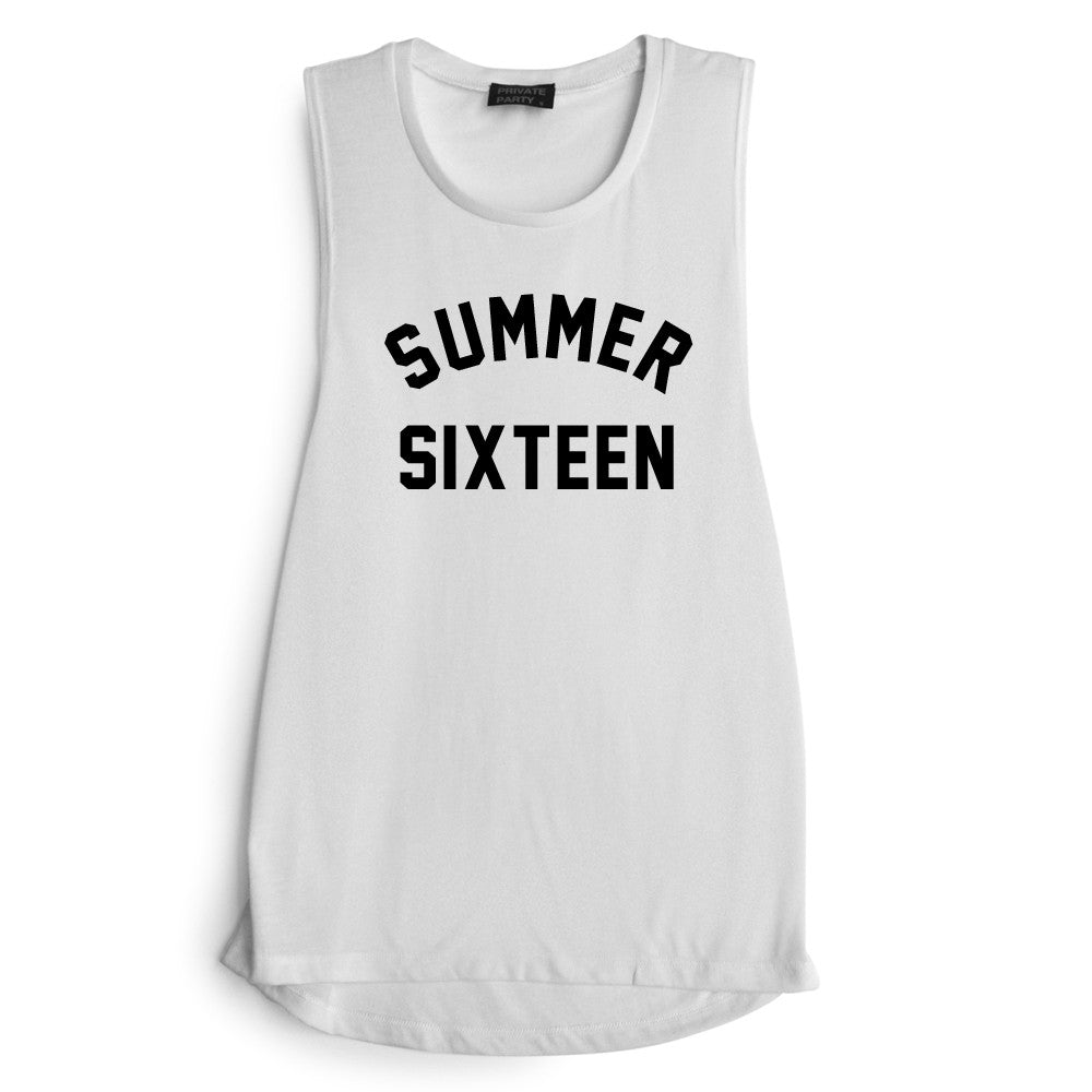 SUMMER SIXTEEN [MUSCLE TANK]