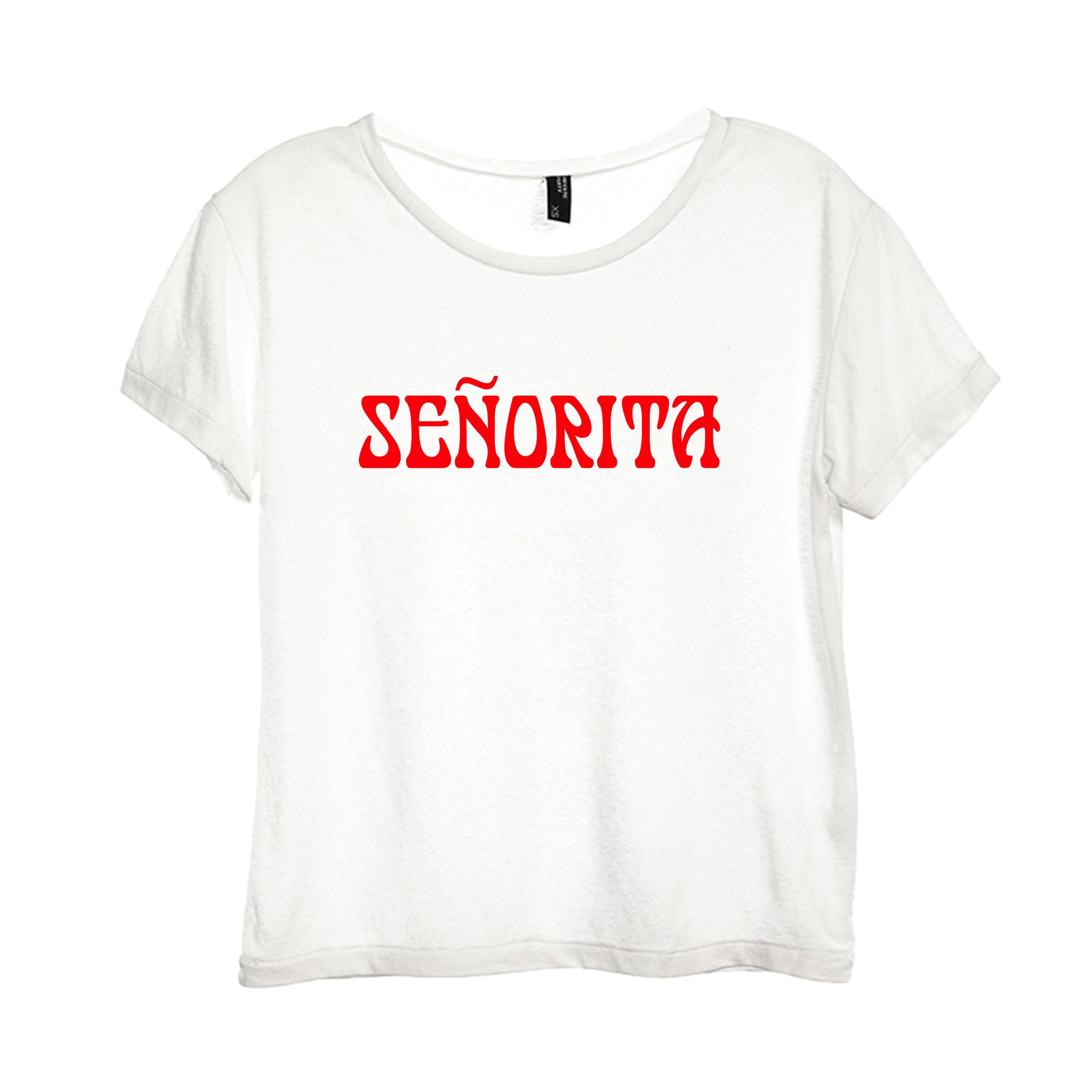 SENORITA [DISTRESSED WOMEN'S 'BABY TEE']