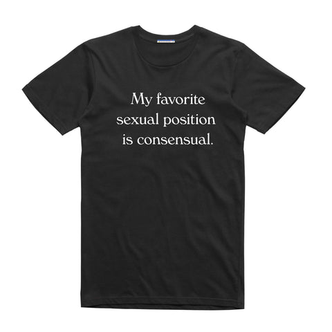 SEXUAL POSITION BASIC TEE