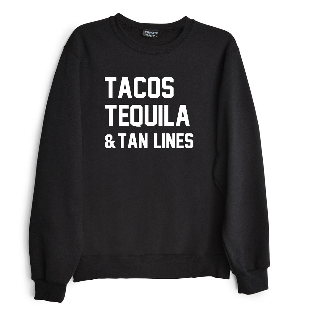 TACOS TEQUILA & TAN LINES