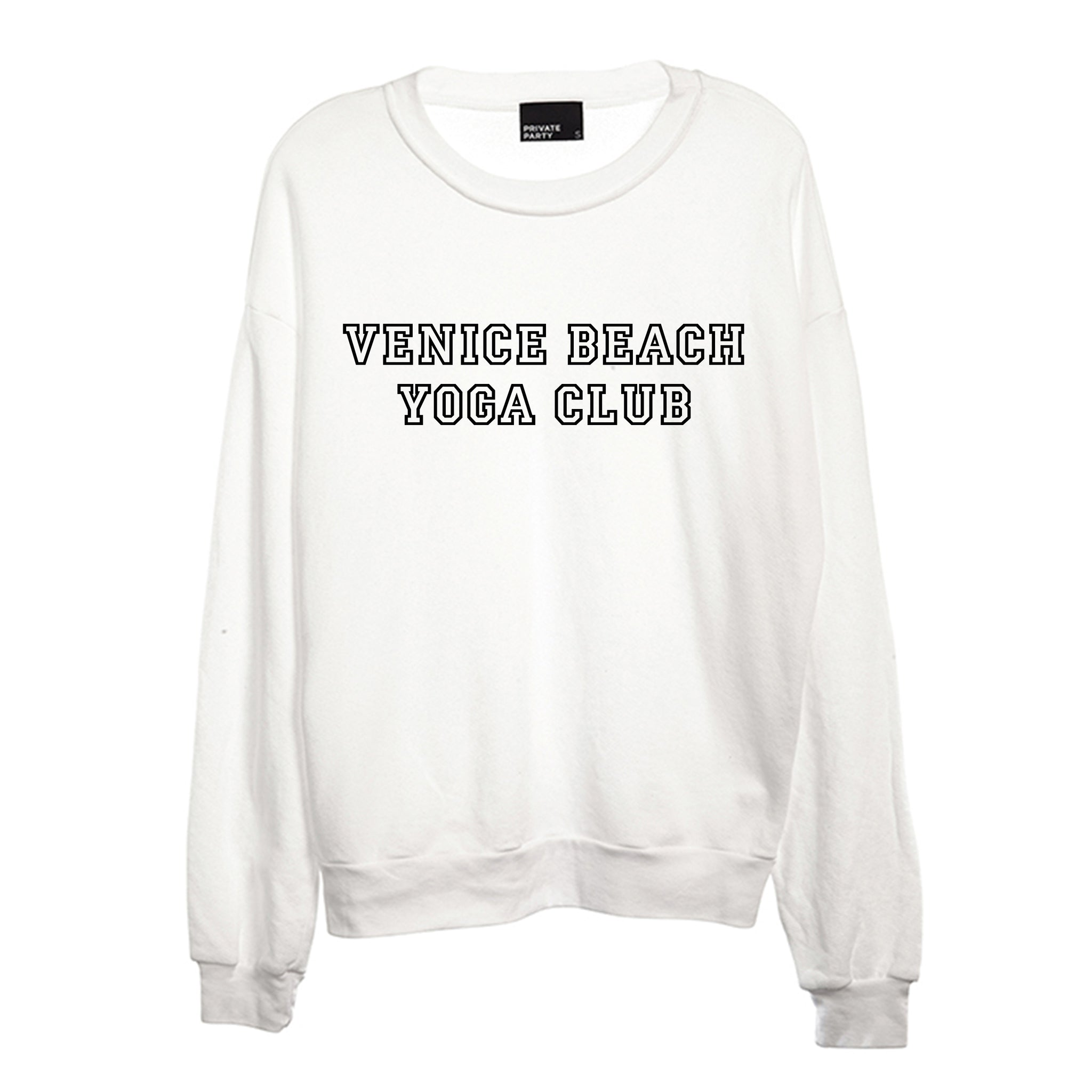 VENICE BEACH YOGA CLUB [UNISEX CREWNECK SWEATSHIRT]