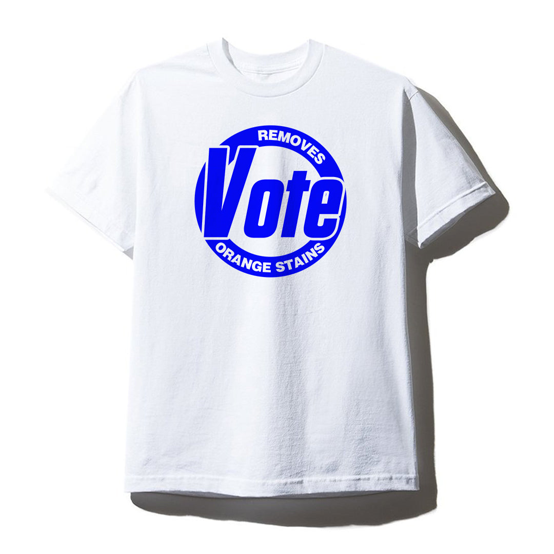 VOTE REMOVES ORANGE STAINS [UNISEX TEE]